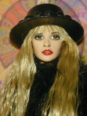 Stevie Nicks Doll: Stevienicks Fleetwoodmac, Nicks Barbie, Barbie S, Barbie Repaint, Awesome Dolls, Fashion Dolls, Celebrity Dolls, Celebrity Barbie Dolls, Stevie Nicks Doll