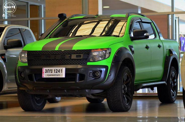 Ford Ranger แต่ง เข้มหล่อจัดๆ   Ford Ranger แต่ง   รถแต่ง