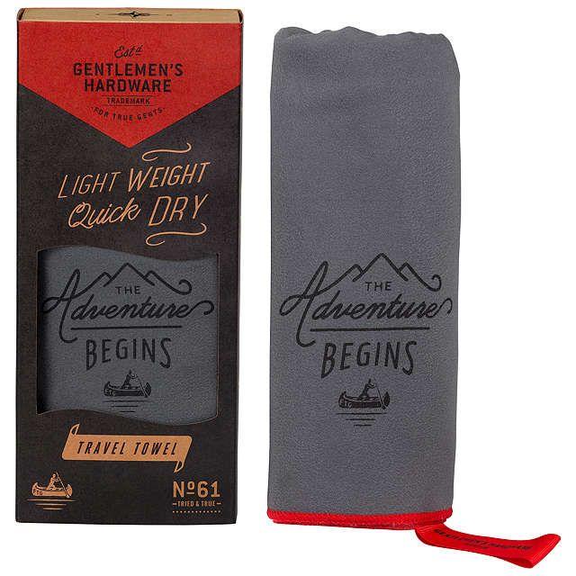 BuyGentlemen's Hardware Travel Towel Online at johnlewis.com