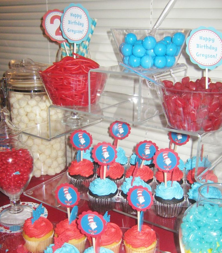 Licorice, cupcakes and more... Dr. Suess
