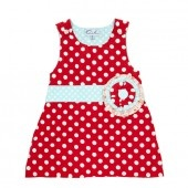 OobiBaby - Red Dot Party Dress #oobibaby
