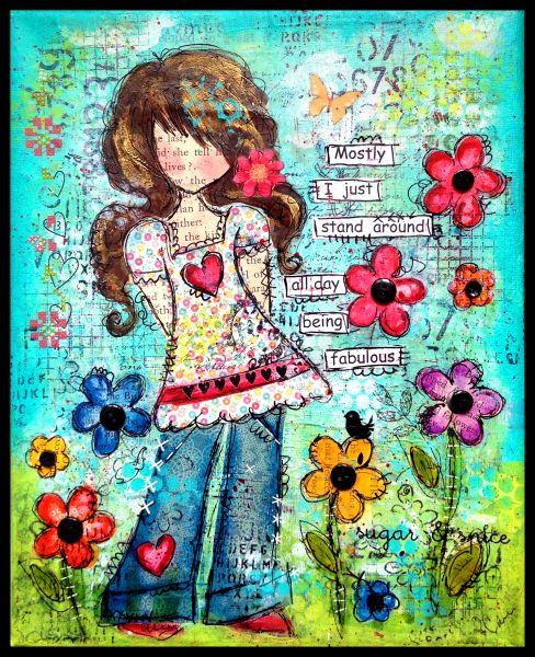 Collage/Paulette Carr...adorable!