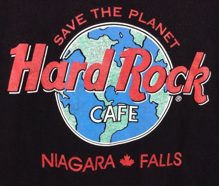 Hard Rock Cafe Save The Planet T Shirt