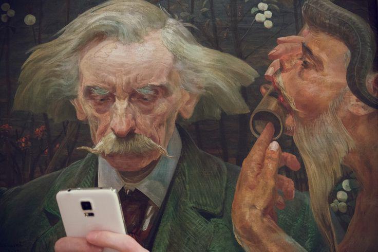 Jacek Malczewski, Nieznana nuta, 1902