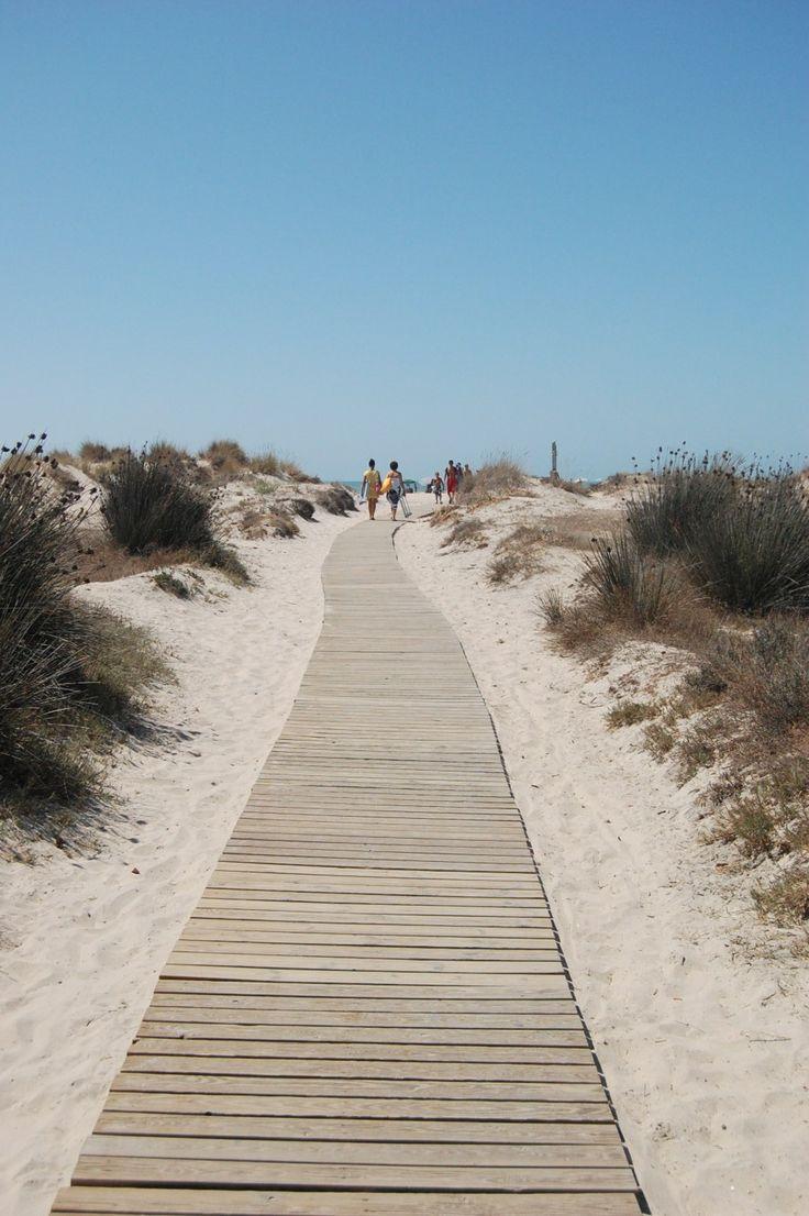#pasarela #playa #madera