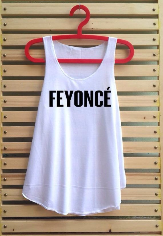 Feyonce shirt tank top women clothing music vest tee by TCFABRIC, $14