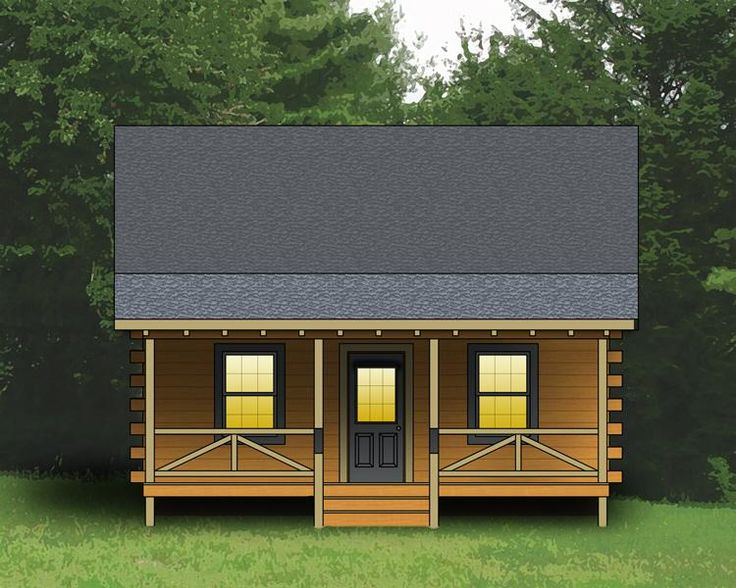 House Plan 154 00001   Log Plan: 744 Square Feet, 2 Bedrooms, 1 Bathroom. Log  Cabin House PlansLog ... Part 92