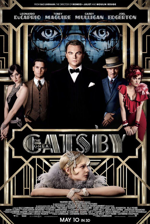 The Great Gatsby - Baz Luhrmann is always interesting, but this could be a monster bomb.