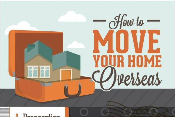How to Deal With Moving Overseas    Moving overseas? You'll need the help of this great infographic.