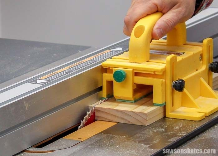 Beginner S Guide To Table Saw Safety From An Expert Saws On Skates Table Saw Safety Table Saw Best Table Saw