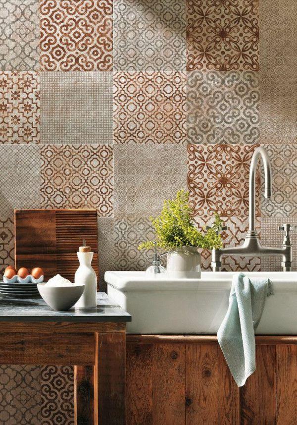 revetements muraux pour salle de bain - 55 id es pour poser du carrelage mural chez soi carrelage et rev tements muraux modernes