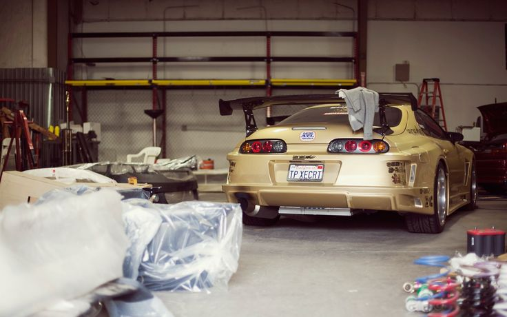 Toyota Supra Lonely In A Garage! Somebody Please Take Care About This Baby!