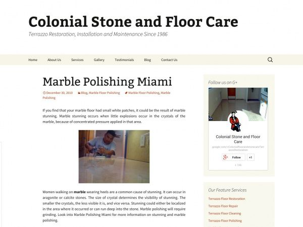 Marble Polishing Miami