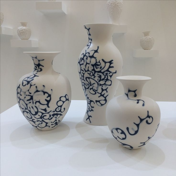 Stunning ceramics from Tamsin Van Essen at the Future Heritage show