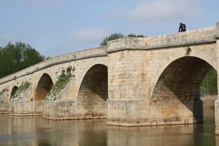 Puente Fitero, Itero de la Vega, Palencia