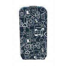 Forro Samsung Galaxy S4 Mini Cállate La Boca Slim Collage Azul  $ 116.290,77