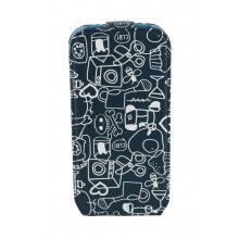 Forro Samsung Galaxy S4 Mini Cállate La Boca Slim Collage Azul  $ 116.290,77