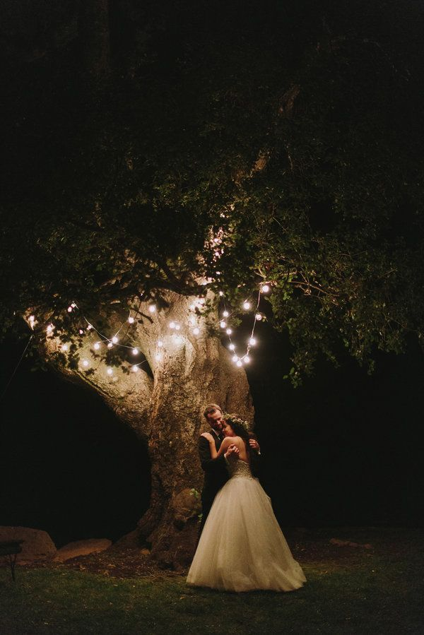 In love with this romantic fairytale lighting | Nirav Patel Photography