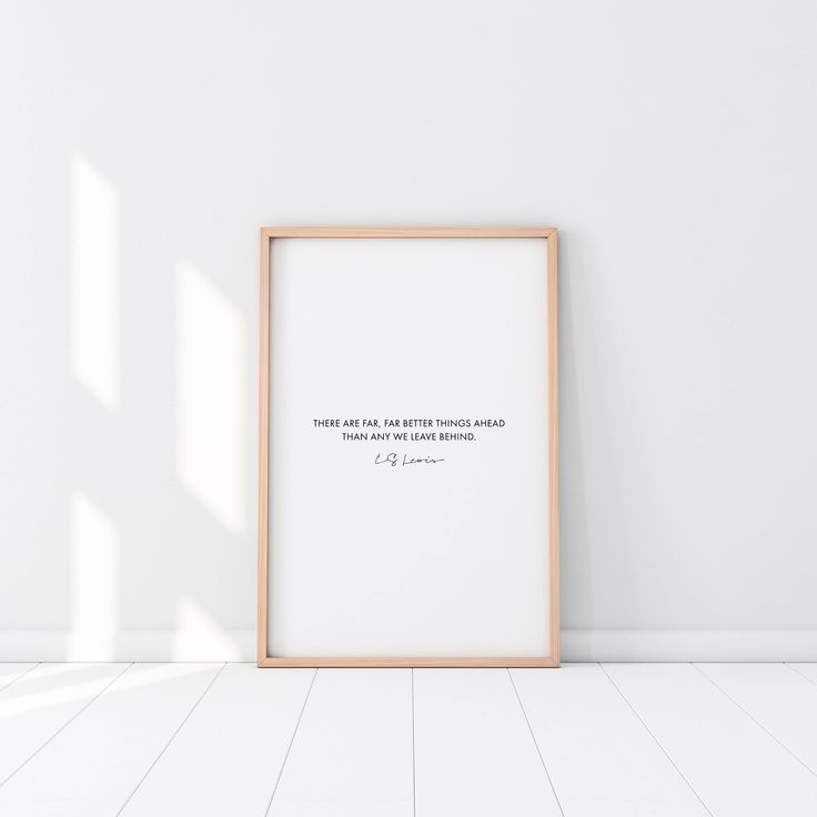 Far Far Better, CS Lewis, Printable, Wall Art, Nordic Decor, Scandi Design, Christian, Poster, Typographic, Frame, Monochrome, Gift, Graphic by GraceGradient on Etsy