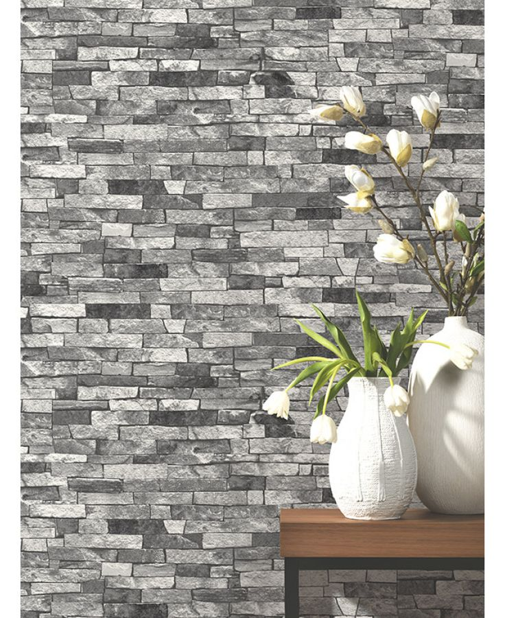 Create A Patchwork Feature Wall: 25+ Best Ideas About Brick Wallpaper On Pinterest