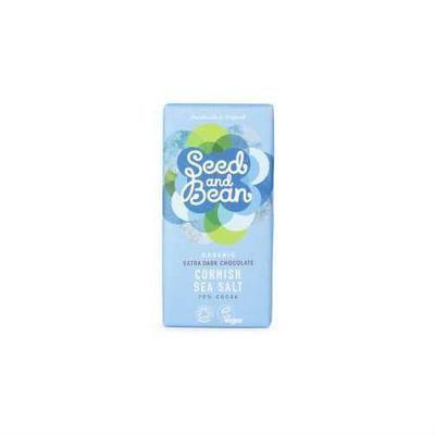 Seed & Bean Organic Chocolate Bars 85g