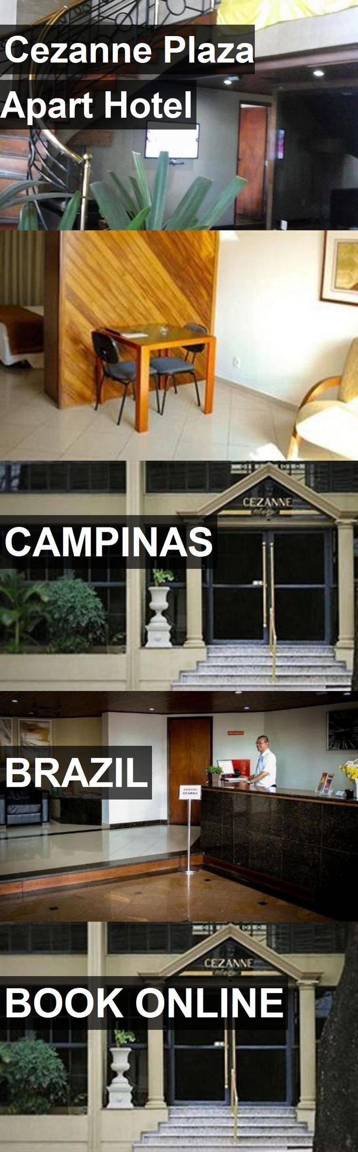 Cezanne Plaza Apart Hotel in Campinas, Brazil. For more information, photos, reviews and best prices please follow the link. #Brazil #Campinas #travel #vacation #hotel