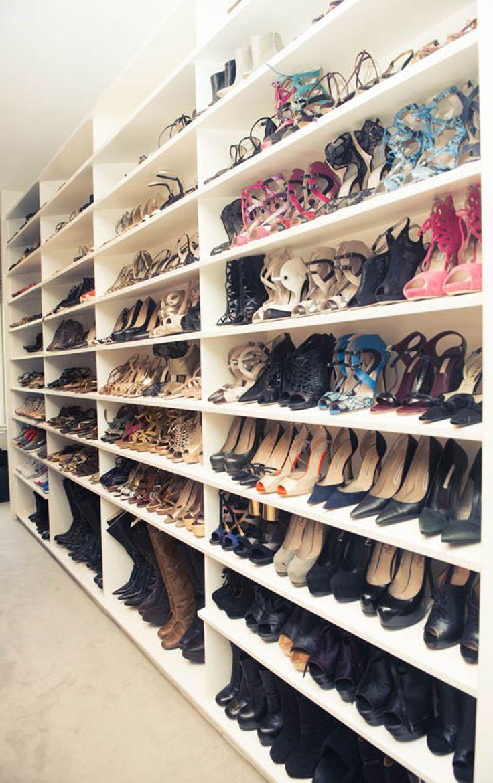 ideas design homemade home new shoe closets closet