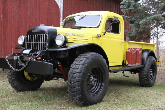 960 Dodge Power Wagon Wm300 4x4 Flat Fender Hobi Truck For Sale