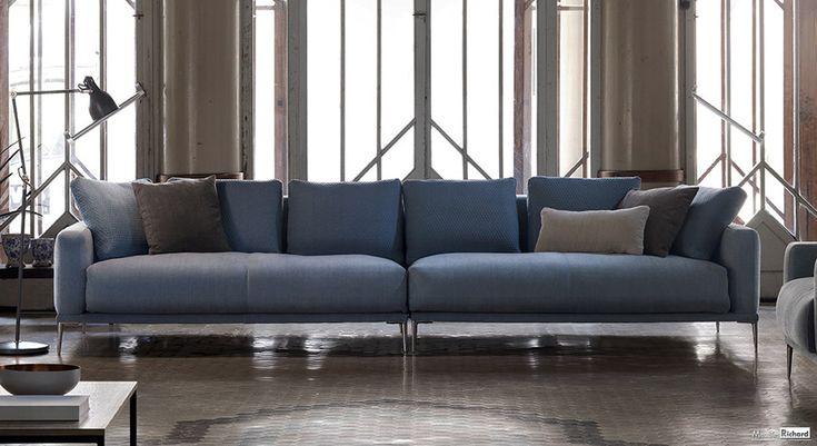 Canape en tissu - Design - Magasin de meubles