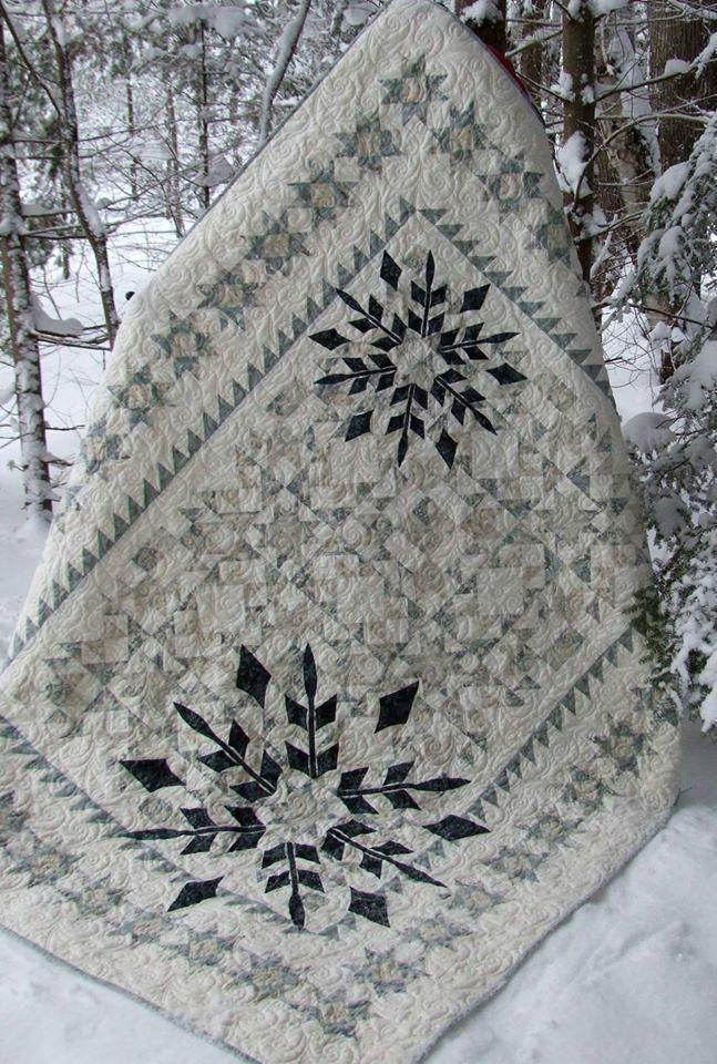 Winter Joy Quilt Kit from Bear Creek