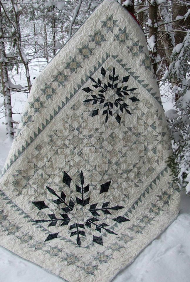 Winter Joy Quilt Kit from Bear Creek                                                                                                                                                                                 More