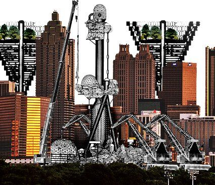 Archigram. Plug-in City, 1962-1966