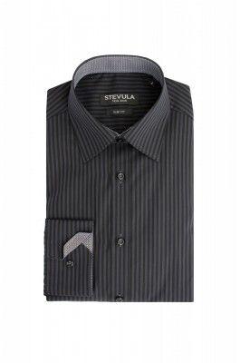 Prúžkovaná pánska košeľa