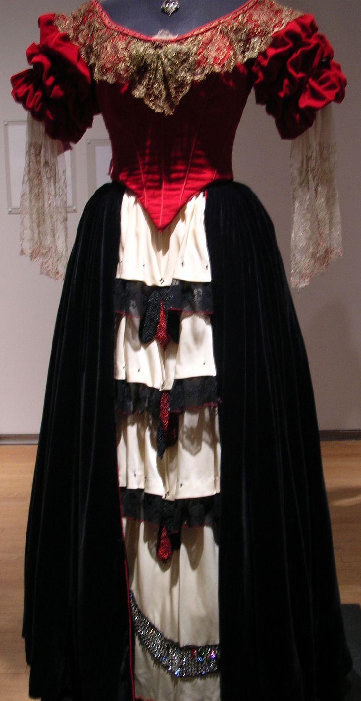 Elena's dance dress from the Mask of Zorro