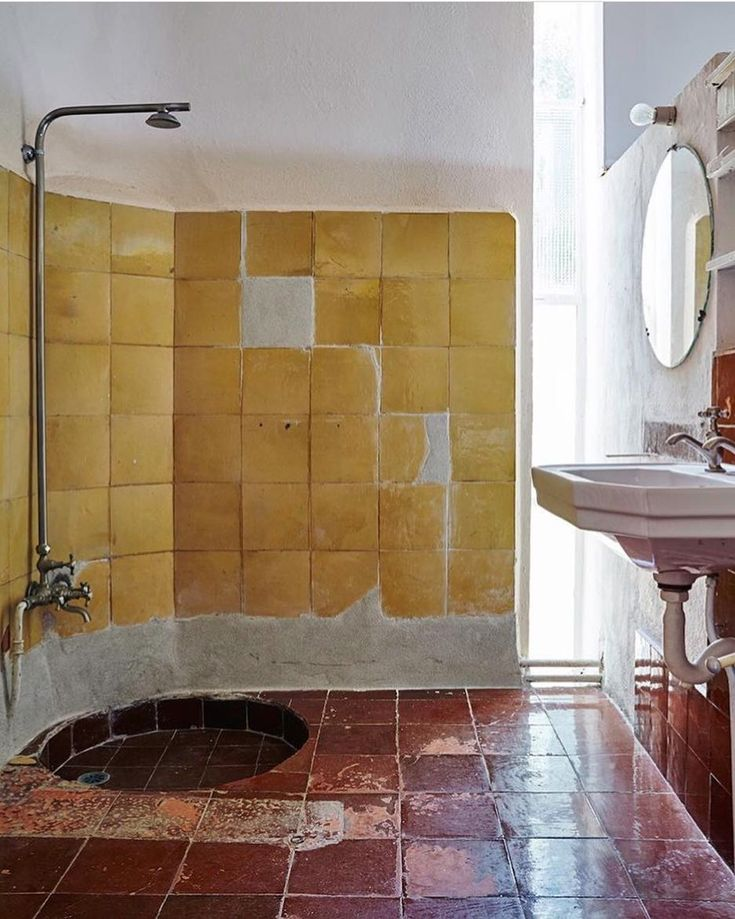 outdoor bathroom vent cover%0A openhousemagazineShowering Eileen Gray style at Cap Moderne  Read the story  of the house in issue written by with photography by  u