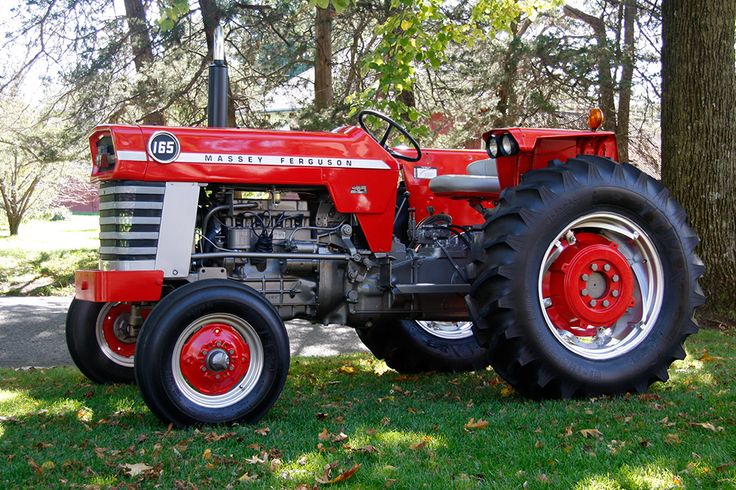 Vintage Front Wheel Drive Tractors : Best images about massey ferguson traktor on pinterest