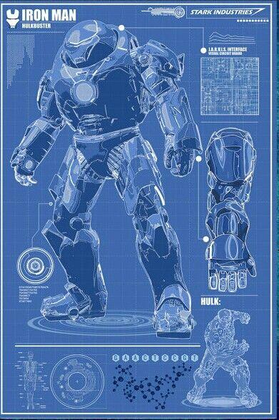 Iron Man Armor Blueprints 1000+ images ab...