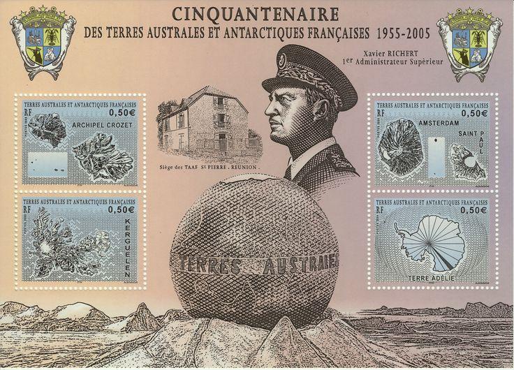 Terres Australes et Antarctiques Francaises 50 years