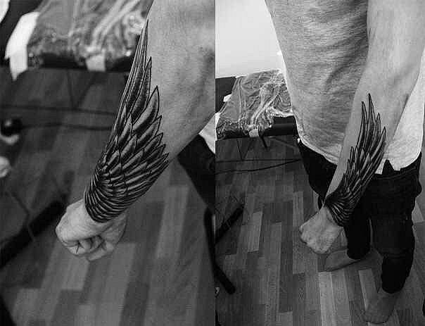 Татуировки на предплечье
