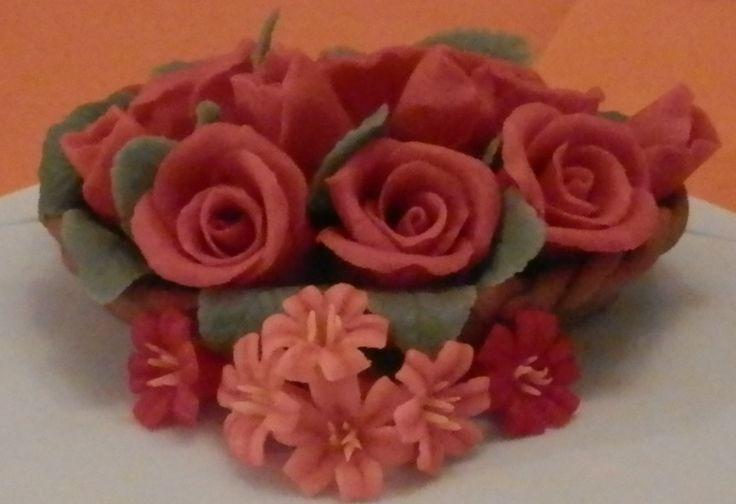 Basket of Roses