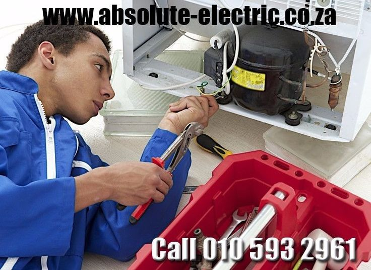 We spacialise in Refrigerator repair all makes Please call Us Now on 010 593 2961 to have Yours repaired as well or Request a free quote online at http://www.absolute-electric.co.za/contact-electrician-emergency.html Call us now on 010 593 2961