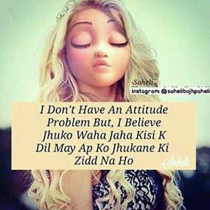 Wish...... Tera Attitude Meri Juttii ☝☝