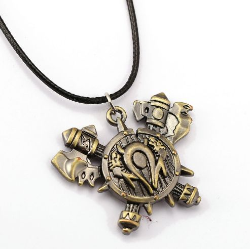 World of Warcraft Horde Shield Pendant //Price: $9.95 & FREE Shipping //