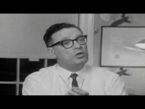 Isaac Asimov: The Three Laws of Robotics (BTW: he says robot like Zoidberg)