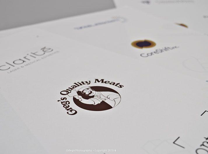 Logo design: Greg's Quality Meats