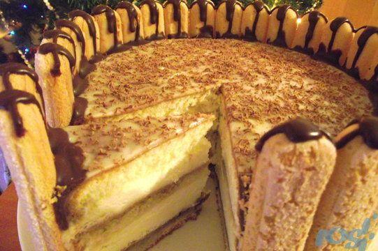 TORT KRÓLEWSKI MASCARPONE