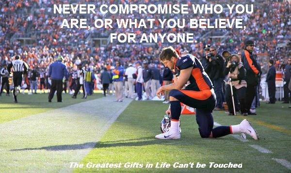Tim Tebow :) a great leader of faith!