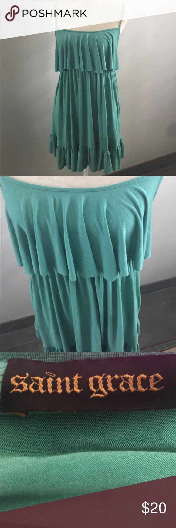Saint grace sundress Saint grace sundress... condition lightly worn. Saint Grace Dresses Mini