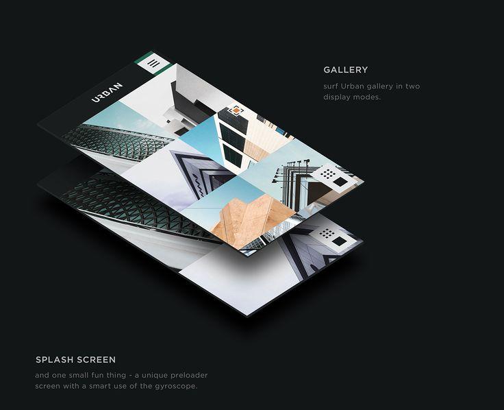 Urban mobile app on App Design Served