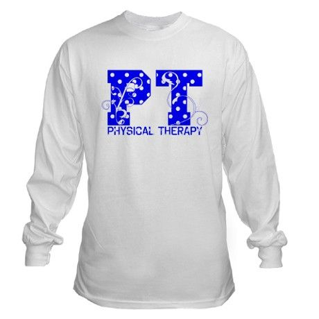 physical therapy designs for shirts | Physical Therapy Gifts > Physical Therapy T-Shirts and Tops > Polka ...